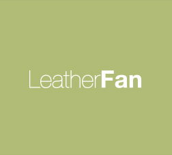 LEATHER FAN